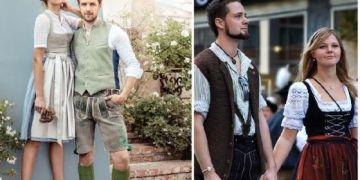 Trang phục truyền thống của nước Đức