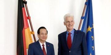 Việt Nam - Đức sẽ ký kết mở rộng ghi nhớ về đào tạo nghề