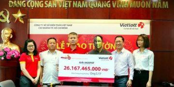 Một người nước ngoài trúng jackpot hơn 26 tỉ đồng của Vietlott