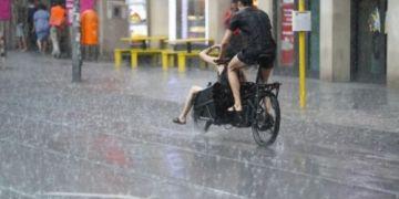 Dự báo mưa lớn và sấm chớp trong tuần này trên khắp nước Đức